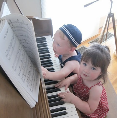 Two Kids at the Piano