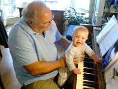 Jimmy first plays piano with Uncle Frankie
