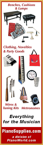Piano Accessories and Music Gift Items
