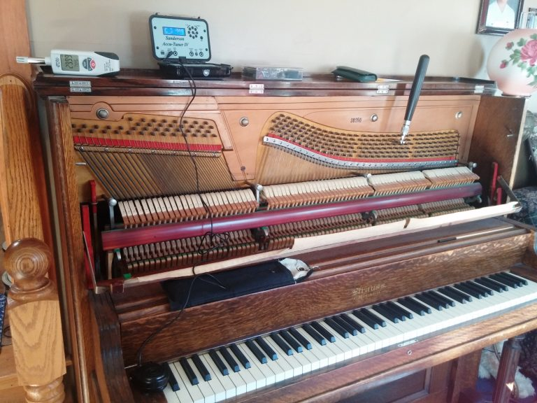 Strauss Upright Piano